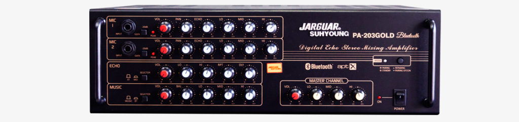Amply Jarguar Suhyoung 203 Gold Bluetooth
